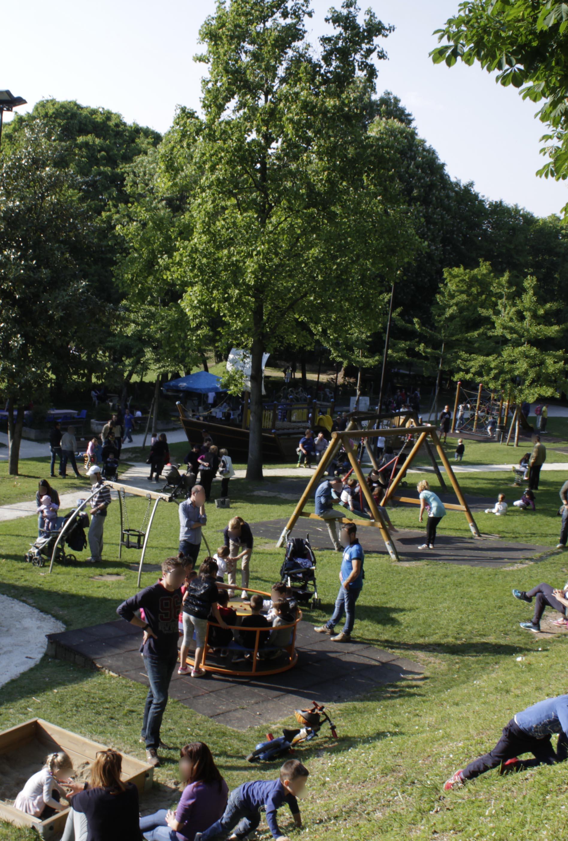 giochi per bambini bar al parco pastore castiglione delle stiviere mantova