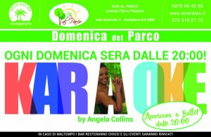 Karaoke - Domenica del Parco - Bar al Parco Pastore - Eventi Castiglione delle Stiviere