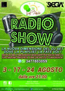 Radio Show - Bar al Parco Pastore - Castiglione delle Stiviere