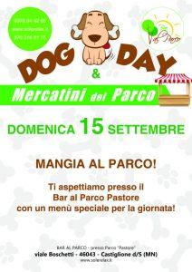 Mercatino del Parco e Dog Day - Bar al Parco Pastore - Castiiglione delle Stiviere (MN) - Sole Relax