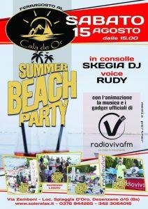 Summer Beach Party Ferragosto
